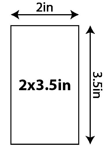 "Semi-Gloss Business Cards - 2"" x 3.5"" (U.S. Standard) 0x0in 02 Image"